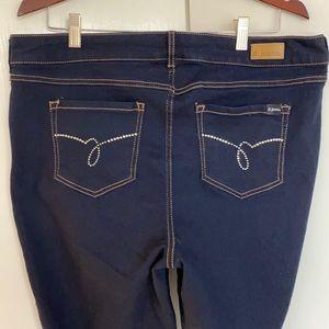 D.jeans dark rinse jeans